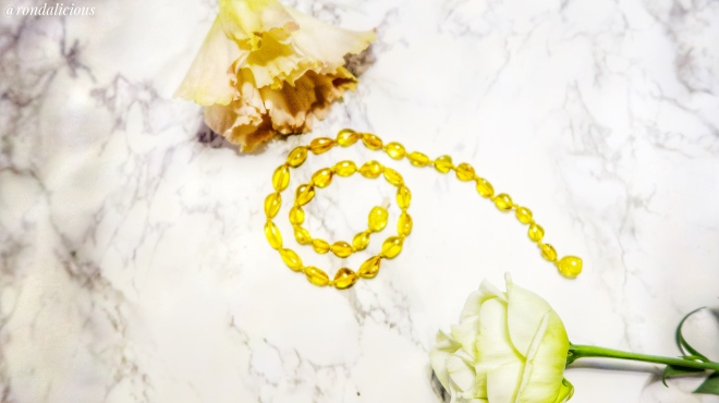pale yellow Baltic Amber necklace