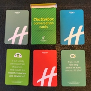 Chatterbox Conversation Cards